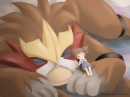 Entei and Molly by ashmish