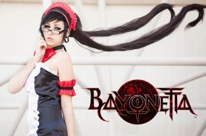 Bayonetta 1 (Maid version) by rinoafatali