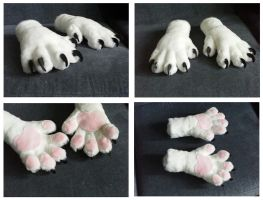 'Slim Fit' Cat Handpaws by CuriousCreatures