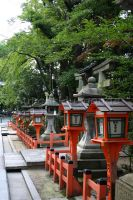 Temple, Japan 7 by AutourDuMonde