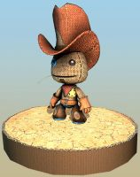 LittleBigPlanet Cow Sackboy by beere