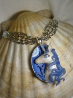 The Last Unicorn - Necklace II by Ganjamira