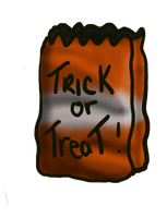 The Great Trick or Treat Bag by AdoptablePie