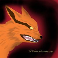 nine tailed fox by FuNiSmYwAy