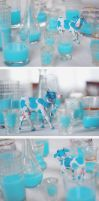 blue cow gives blue milk by da-bu-di-bu-da