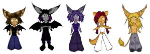 likkle chibis by batness