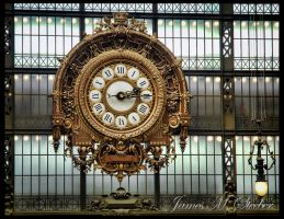 Gare d'Orsay Clock by steeber