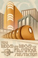 Gotham Metro - Now Ribbed by Ladonite