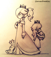 Rosalina's Past by CornerDoodles
