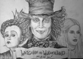 Alice in Wonderland by erdnuss-baum