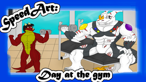 .:Speed Art:. Day in the gym by Neofactory02