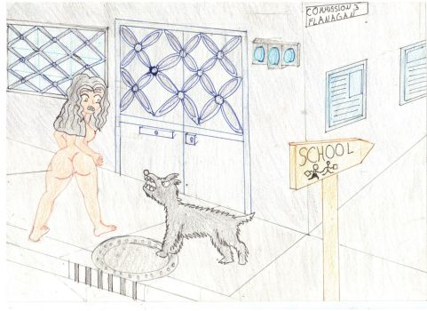 Naked A T School 3 by Dianamcgarden