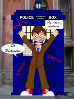 Saz and the Doctor Christmas by LilTeri