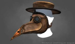 Plague Doctor Mask v2 by Nosslak