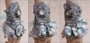 Watchcuff by Pinkabsinthe
