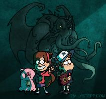 The Call of Gravity Falls by EmilyStepp