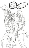 Inked: Dexter and 85 by BlueRoseFox