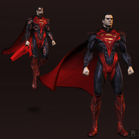 Injustice: Gods Among Us - Superman (regime) by Sticklove