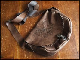 Handcrafted Leather Bag by ReanDeanna