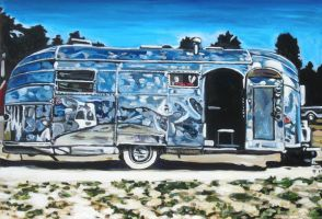 Airstream Flying Cloud 1951 by Airstreams