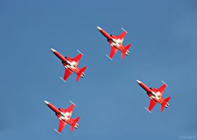 Patrouille Suisse by Escara40
