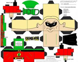 GL 1: Alan Scott Cubee by TheFlyingDachshund