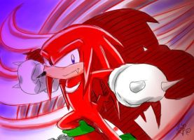 Knuckles by Windhover07