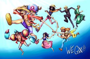 One Piece - We Go!!! by juugatsuhoshi