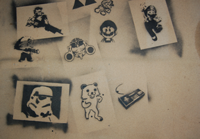Stencil Collab by koopaloop