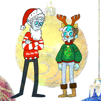 Ugly Christmas sweaters by SharkMate