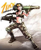 Commando Jinx skin by witchakorn
