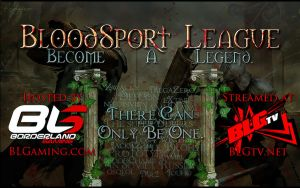 BloodSport League Banner by Kronivar
