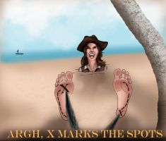 Pirates 2 X Marks The Spots by Bigfootfantasies