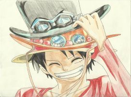 Luffy by LucyHeartfilia17