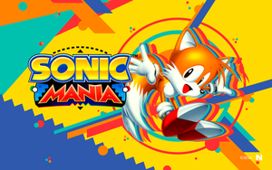 Sonic Mania - Wallpaper [Tails] by NathanLaurindo