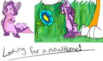 POINTS: looking for a new home! by MystikMeep
