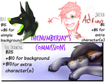 -:|:- Commissions Open! -:|:- by theNumberJay