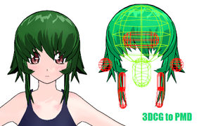 MMD- Ionic Front.2 -DL by MMDFakewings18