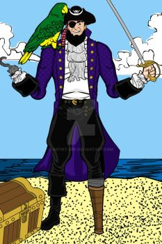 Heromachine- Patchy The Pirate by ARTIST-SRF
