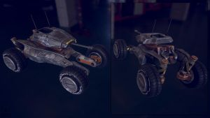 Recon Buggy Drone by ikarus-tm