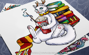 Wizarding cat by quidames