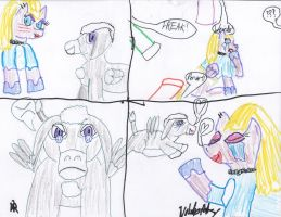 Thunder Head, a surprise foal sitter! (part 2) by Nobodyspatzy