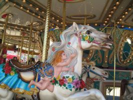 Carousel -7 by rachellafranchistock