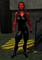 Red She Hulk by cattle6