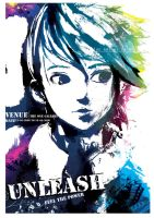 UNLEASH - exhibition poster by kago-woo
