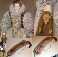 Henry II the flea fur by ladyrose04