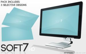 Soft7 2.0 HD Wallpaper by ARTartisan