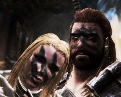 Brother and sister by skyrimphotographer