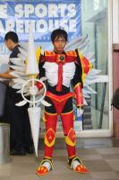 cosplay dukemon by crossfighter