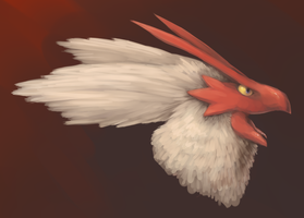 Blaziken Headshot by fuzzball288